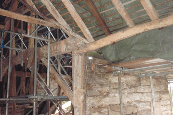Timber Frame Repair