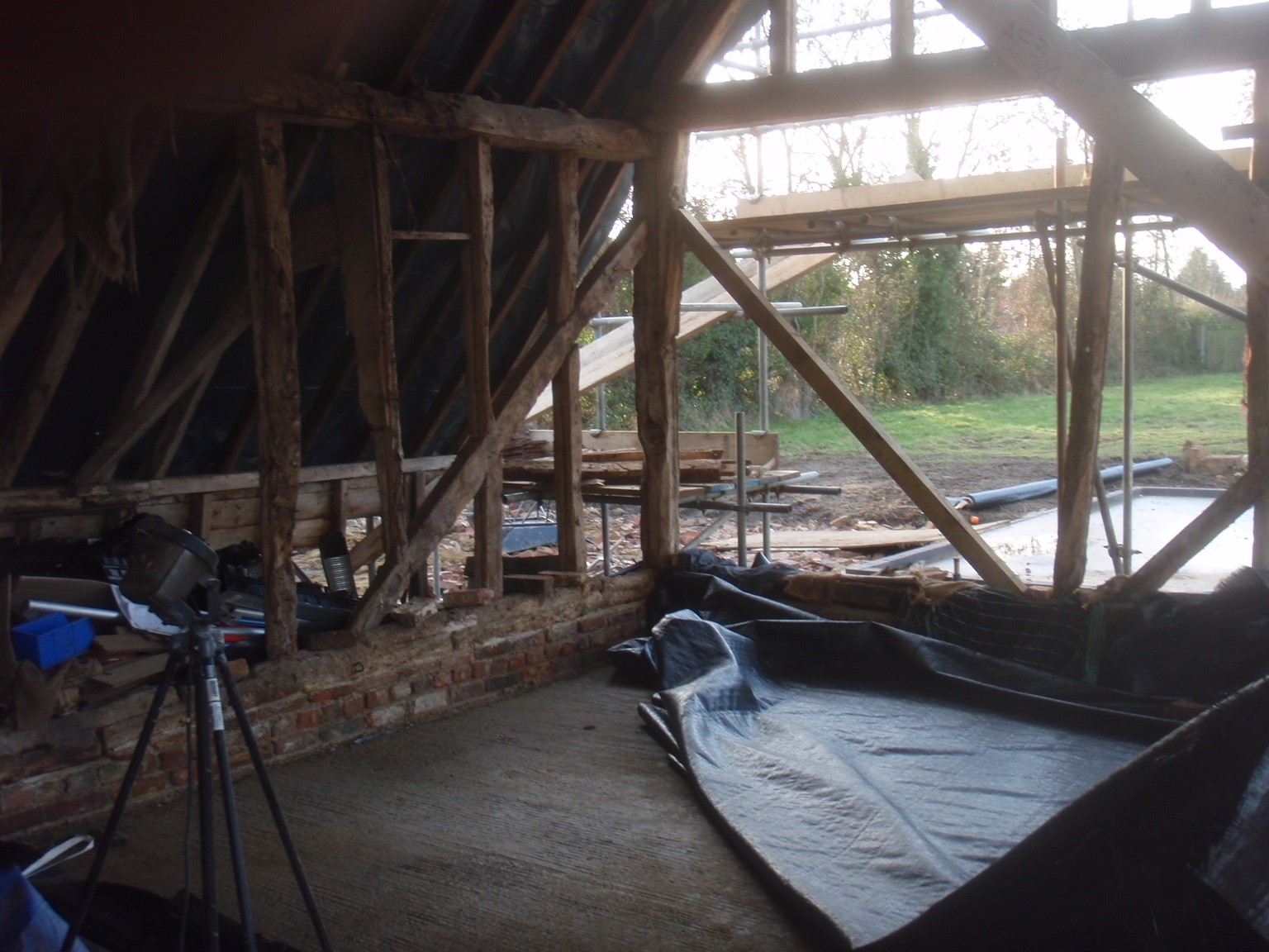 Timber Frame Restoration