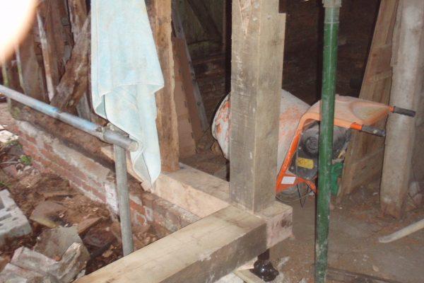 Timber Frame Repair